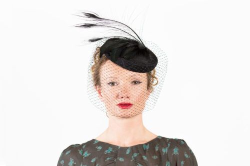 cb28b217a3f 1950 s Style Pillbox Hat - Sahar Millinery