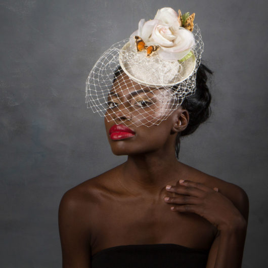 butterfly_hat_birdcage_veil_bridal_wedding_hat