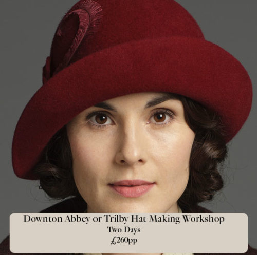 Downton Abbey Traditionally made 1920 s hat class - Sahar Millinery ... 53bf2df4395